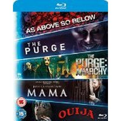 Blu ray 5-Movie Starter Pack: Mama/The Purge/Purge: Anarchy/OUIJA/As Above, So Below [Blu-ray] [2015] [Region Free]